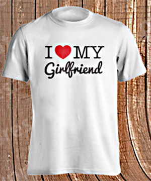 Playera Love my Girlfriend